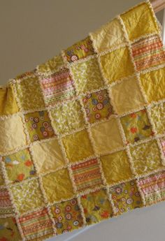 Fun quilts to make - rag quilt