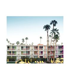 """""""Palm Springs Hotel"""" by Ludwig Favre"""
