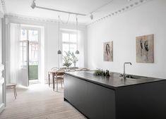 Minimalist Swedish Apartment Chalmersgatan 16, Gothenburg • Design. / Visual.