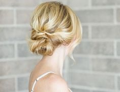 A low bun hair DIY to give you the soft, romantic updo you've been looking for! Whip out this beauty for any event with little effort!