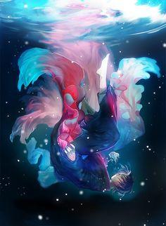 [pixiv] Underwater illustrations! - pixiv Spotlight