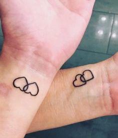 30 Inspiring and Beautiful Mother Daughter Tattoos @GirlterestMag #mother #daughter #tattoos #cute #love #tiny