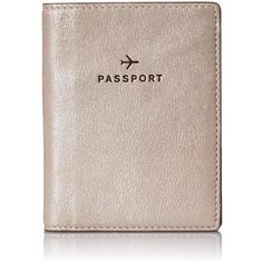 Fossil Passport Pass Case (1,665 PHP) ❤ liked on Polyvore featuring bags, luggage and fillers