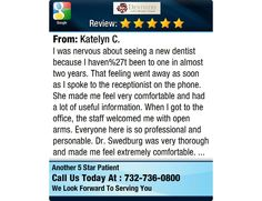 I was nervous about seeing a new dentist because I haven%27t been to one in almost two...