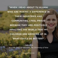 #ContessaQuotes from #featuredCC Casey Reed, #UniversityofTulsa