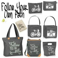 Follow Your Own Path  Order online at: https://www.mythirtyone.com/Tote-allyOrganizedwithStas/shop/Home