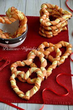 Walentynkowe serca; Valentinstag Herzen, Kekse, Heart Cookies, Valentine
