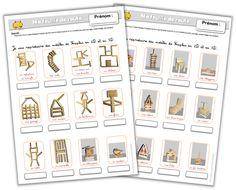 Feuille de route - Reproduire des modèles de Kaplas en 2D et 3D - Journal de bord d'une instit' débutante Quiet Time Activities, Montessori Activities, Cycle 1, Primary Maths, Math Art, Kids Corner, School Classroom, Best Teacher, Pattern Blocks