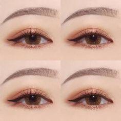 Makeup korean eyeliner 37 New Ideas Make-up Korean Eyeliner 37 Neue Ideen Korean Makeup Look, Korean Makeup Tips, Korean Makeup Tutorials, Eye Makeup Tips, Makeup Inspo, Beauty Makeup, Makeup Ideas, Korean Makeup Tutorial Natural, Makeup Style