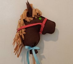 Horse Party Favor Hobby Horse Stick Horse Horse Party Favors, Derby Horse, Stick Horses, 1st Birthday Parties, Pony, Trending Outfits, Unique Jewelry, Handmade Gifts, Vintage
