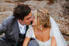Stylish Beach Wedding | Don Barrington Photography