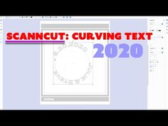 ScanNCut: Curving Text - YouTube Brother Scanncut2, Scan N Cut, Some Text, Brother Scan And Cut, Pretty Cards, I Hope You, Design Crafts, Get One, Knowing You