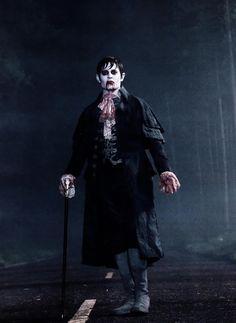 vampire Barnabas Collins from Dark Shadows Johnny Depp