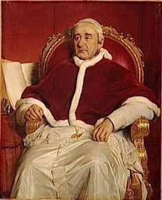 Pope Gregory XVI, ca. 1844 (Paul Delaroche) (1797-1856)Musée National du Château et des Trianons, Versailles