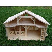 FARMA ROZMARÝNA,  wooden toys, wooden houses, toys