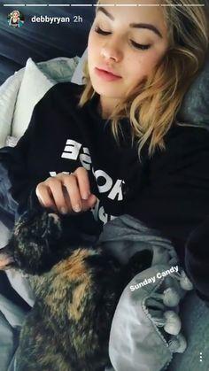 Uber cute Debby Ryan, Pretty Girls, Bomber Jacket, Uber, Iphone Wallpaper, Netflix, Jackets, Fashion, Down Jackets