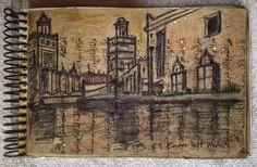 """""""Mi cuaderno de viaje. My travel sketchbook . #Draw  #travel #solotravel #artforsale  #artoftheday #museum #color #Morocco #Newyork #Brooklyn #Barcelona #sketchbook #architecture #contemporaryart #artistofig #art #arte #mood #artistofinstagram #instaart #instafollow #artsy #gallery #artcollector #igers #ink #watercolor"""