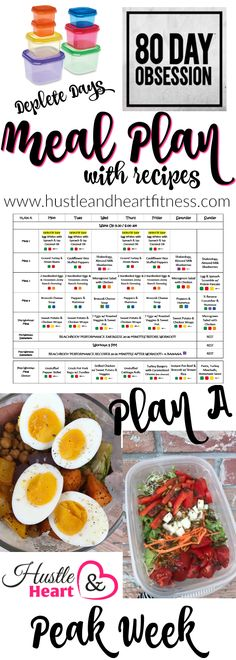 Final week of 80 Day Obsession means PEEK WEEK and DEPLETE DAYS, this is a big change in the program where Autumn gives you the option of reducing your carbs a