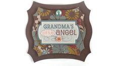 Grandma little Angel Scrapbook embellishment Paper by itsmemanon, $2.00