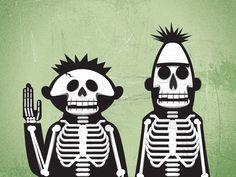 Bert and Ernie X-ray
