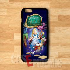 60th Anniversary Edition Alice in Wonderland - zDz for iPhone 4/4S/5/5S/5C/6/6 ,Samsung S3/S4/S5,Samsung Note 3/4
