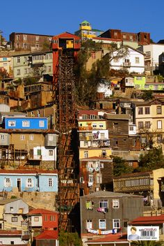 Ascensor Cerro Monjas Living In Peru, Visit Chile, Hispanic Heritage Month, To Infinity And Beyond, South America, Adventure Travel, Architecture, Tourism, Places