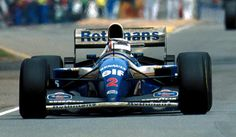Nigel Mansell won the final race of the year after coming back from Indy Car, Australian Grand Prix, Adelaide, November 13, 1994.