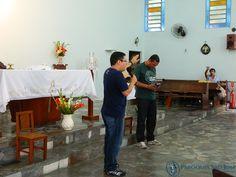 Pregação feita por Alex, membro da Canção Nova do Rio.