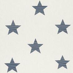 BAMBINO BIG STARS NURSERY CHILDRENS BOYS GIRLS FEATURE WALLPAPER RASCH 245622 in Home, Furniture & DIY,DIY Materials,Wallpaper & Accessories | eBay