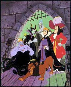 Disney Villans - So Cool!