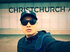 K.One on his way to Christchurch