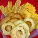 Natural Fruit Chips in Excalibur Dehydrator