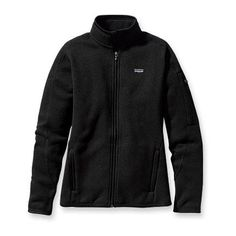 Patagonia Women's Better Sweater™ Jacket Black or Grey!  A new fleece/jacket that won't collect so much dog hair...