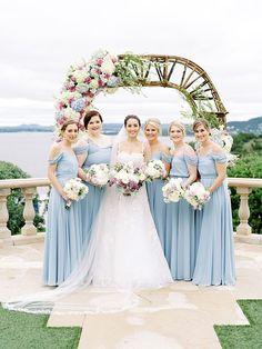 Brides of Austin FEATURED Vendors:⠀ Planner: @pearleventsaustin⠀ Floral: @westbankflowermarket⠀ Accommodations: @hotelvanzandt⠀ Bridal Gown + Accessories: @bblewisville⠀ Decor + Rentals: @premiereeventsaustin⠀ Catering + Bartending: @cravecateringtx⠀ Bridesmaids And Groomsmen, Bridesmaid Dresses, Wedding Dresses, Bridesmaid Inspiration, Wedding Inspiration, Wedding Looks, Wedding Day, Bridal Alterations, Garden Party Wedding