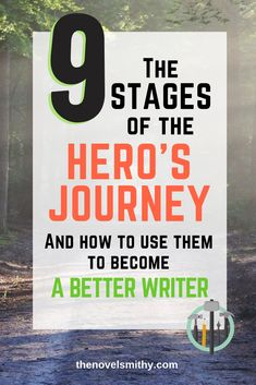 9 Stages of the Hero's Journey and How to Use Them - The Novel Smithy Creative Writing Tips, Book Writing Tips, Writing Resources, Writing Skills, Writing Prompts, Writing Workshop, Writer Tips, Script Writing, Writing Lessons
