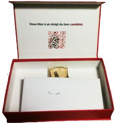 Agences de pub, Vous êtes à un doigt du bon candidat. Lart pour Romain Tarillon de déposer son CV.
