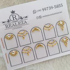 Rhinestone Nails, Bling Nails, Swag Nails, Gorgeous Nails, Pretty Nails, Caviar Nails, Nail Mania, Nails Design With Rhinestones, Nail Jewels