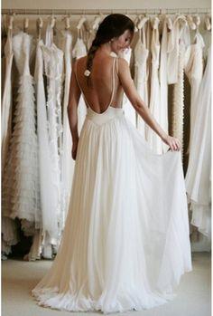 Une robe fluide