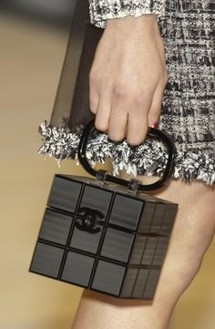 CHANEL Rubik's Cube bag....This is the perfect size for all my purse items..IM IN LOVE!!