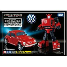Transformers Takara Tomy Masterpiece MP21R Bumblebee Bumble Red Body ** Continue to the product at the image link.Note:It is affiliate link to Amazon. #Transformers