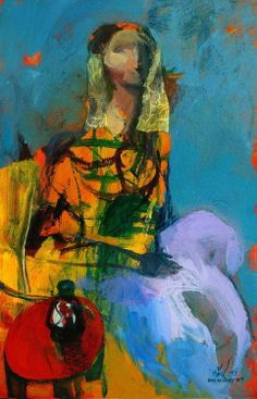 Jaber Alwan (born 1948 in Babylon, Iraq) is an Italian artist and painter of Iraqi descent.