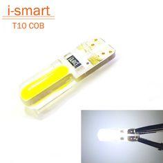 최신 T10 W5W LED 자동차 인테리어 라이트 cob 마커 램프 12 볼트 194 501 전구 웨지 주차 돔 빛 자동 lada 자동차 스타일링