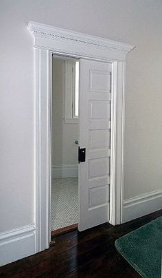Period Correct Pocket Door For A Lovely Older Home. Almost Becomes A Focal  Point With