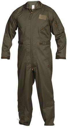 Olive Drab Flight Suit