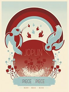 Rob Brooks, Moosylvania Art for Joplin poster project #graphicDesign