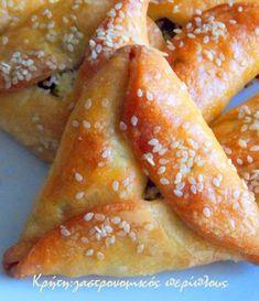 Σχετικά Greek Pastries, Bread And Pastries, Jewish Recipes, Greek Recipes, Sausage Roll Pastry, Cypriot Food, Greek Appetizers, Greek Sweets, Greek Cooking