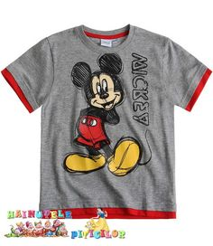 Tricou Mickey Mouse hainutele piticilor