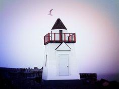 Garnish Lighthouse, Newfoundland and Labrador, Canada Beacon Lighting, Newfoundland And Labrador, Lighthouses, Empire State Building, West Coast, Tower, Canada, Bar, Wall Art