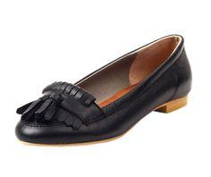 Black Color Petal Loafer from Le Bunny Bleu