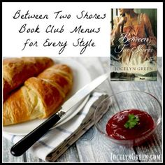 Between Two Shores Book Club Menus for Every Style | JocelynGreen.com